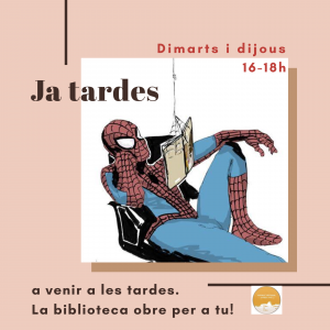 bibllcompanys-obre-tardes
